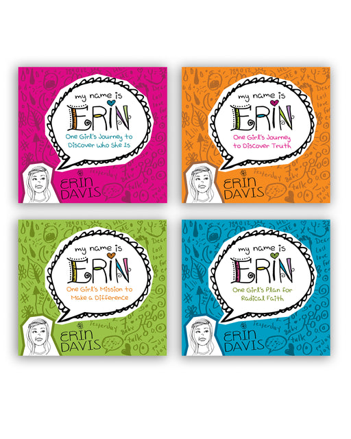 My Name is Erin - shrinkwrapped set of 4 books