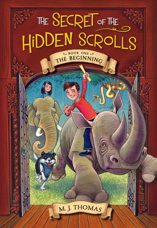 The Secret of the Hidden Scrolls: The Beginning, Book 1