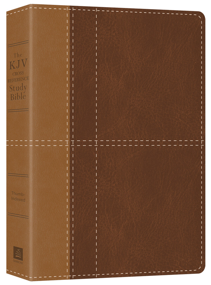 The KJV Cross Reference Study Bible - Indexed [brown]