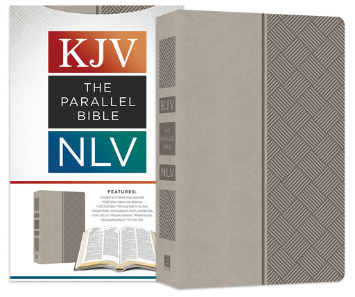 The KJV NLV Parallel Bible [Pewter]