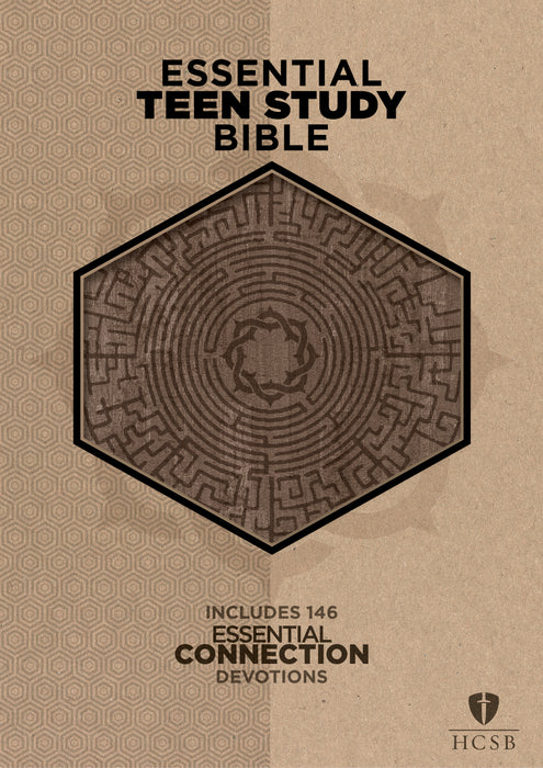 The HCSB Essential Teen Study Bible, Gray Cork LeatherTouch