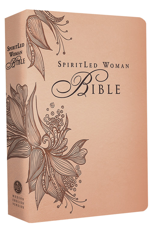 MEV Bible SpiritLed Woman Rose Tan Leatherlike