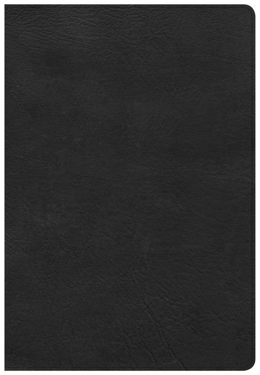 CSB Super Giant Print Reference Bible, Black LeatherTouch