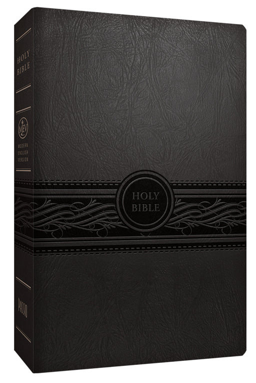 MEV Bible Personal Size Large Print Charcoal