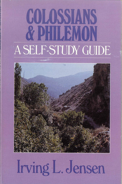Colossians & Philemon- Jensen Bible Self Study Guide