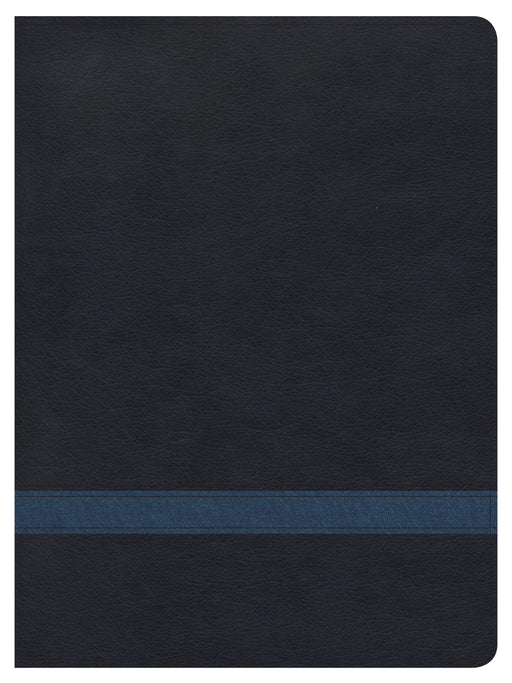CSB Apologetics Study Bible, Navy LeatherTouch, Indexed