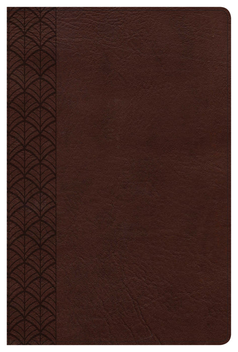 The CSB Study Bible For Women, Chocolate LeatherTouch, Indexed