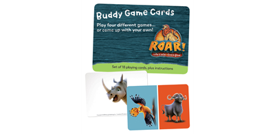 Roar VBS 2019 - Buddy Game Cards