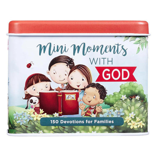 Mini Moments with God Devotional Cards for Kids