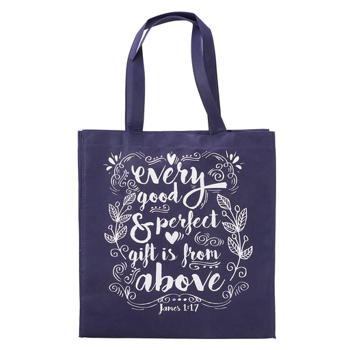 Every Good and Perfect Gift Tote Shopping Bag - James 1:17