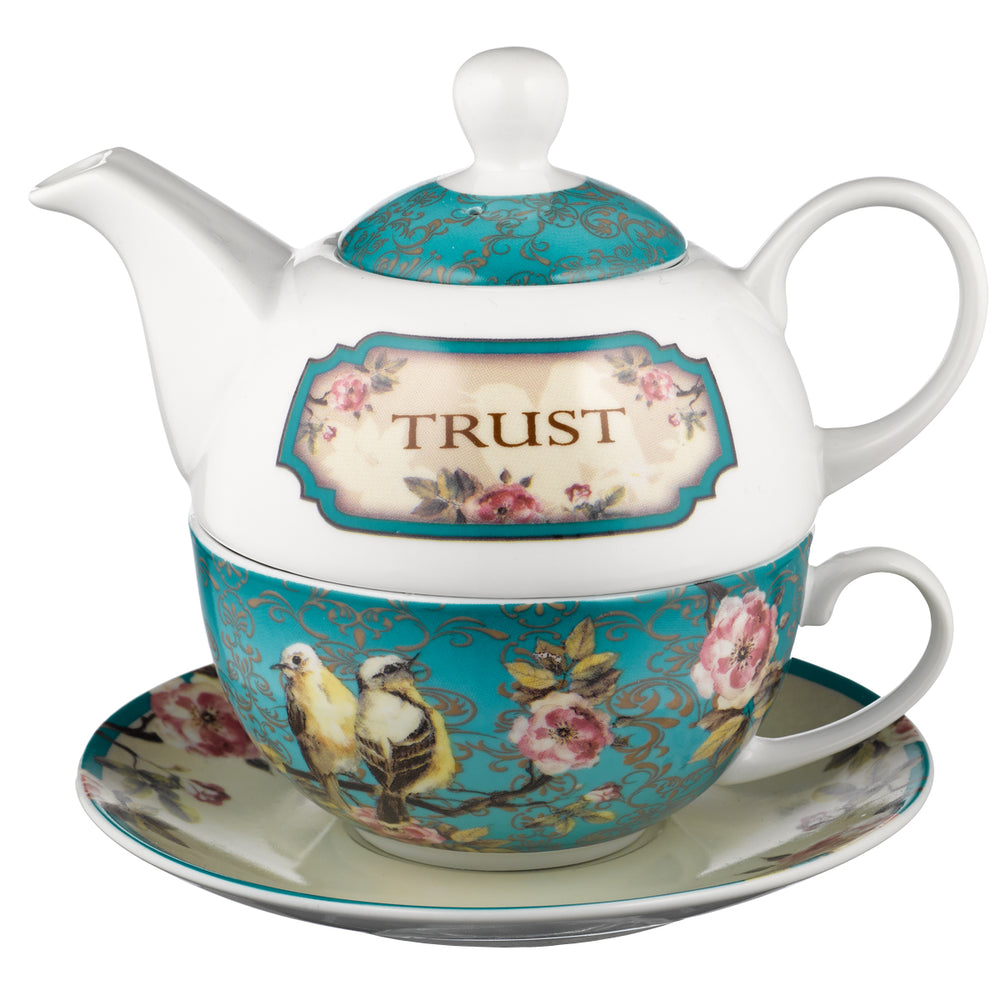 Trust in the Lord Tea Set for One - Proverbs 3:5