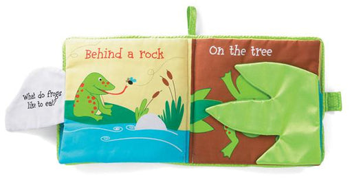 Manhattan Toys Find the Frog Soft Activity Book