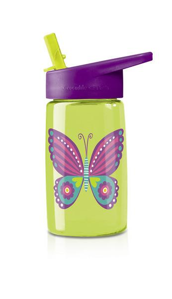 Crocodile Creek Tritan Bottle - Butterfly