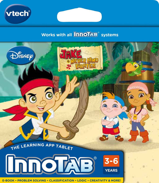 VTECH INNOTAB SOFTWARE: JAKE & THE NEVERLAND PIRATES