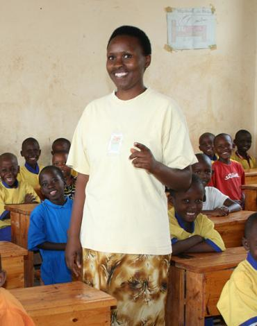 Giving Back Partnering with Wellspring to bring quality education to Rwandan children