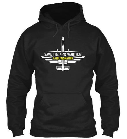 A-10 Lives Matter Badge Hoodie