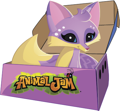 Image of: Gift Cards Get The Animal Jam Box Newsletter For Latest News And Updates National Geographic Kids Animal Jam Box Animal Jam Rainbow Snow Leopard Tank
