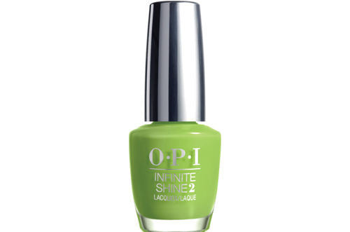 OPI Infinte Shine<hr>ISL20 To the Finish Lime!