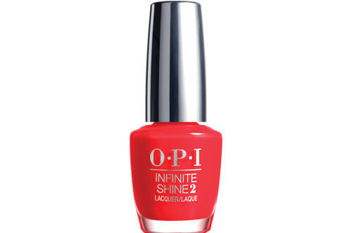 OPI Infinite Shine<hr>ISL08 Unrepentantly Red