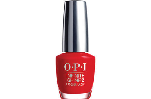 OPI Infinite Shine<hr>ISL09 Unequivocally Crimson