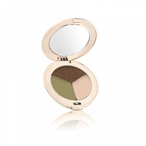 JANE IREDALE <hr> PurePressed Eye Shadow Triple Khaki Kraze
