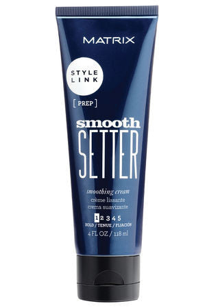 MATRIX <hr> STYLE LINK SMOOTH SETTER Smoothing Cream 4 oz.