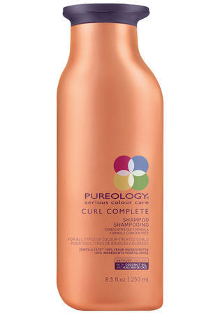 PUREOLOGY <hr> Curl Complete Shampoo
