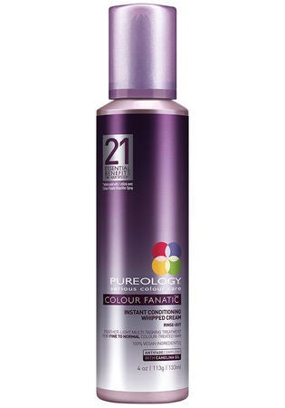 PUREOLOGY <hr>Colour Fanatic™ Instant Conditioning Whipped Cream  4.2oz