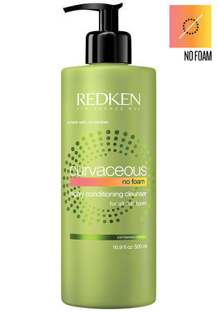 REDKEN <hr> Curvaceous No Foam Highly Conditioning Cleanser for All Curl Types