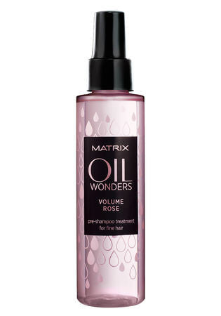 MATRIX <hr> Oil Wonders Volume Rose Pre-Shampoo Treatment for Fine Hair 4.2 oz.