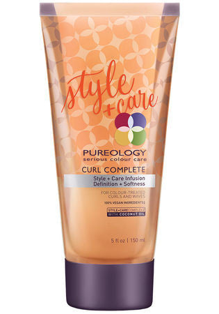 Pureology <hr> Curl Complete Style + Care Infusion 5 oz.
