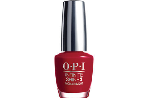 OPI Infinite Shine<hr>ISL10 Relentless Ruby