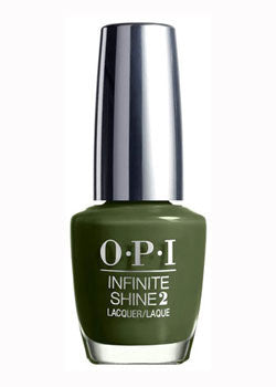OPI Infinite Shine<hr>ISL64 Olive for Green