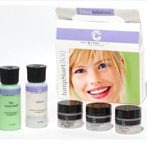 CLINICAL CARE SKIN SOLUTIONS <hr> Travel Jumpstart Kit