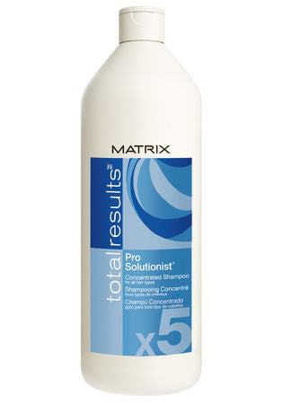 MATRIX Total Results <hr> Total Results Pro Solutionist x5 Concentrated Shampoo