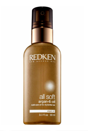 REDKEN <hr> All Soft Argan-6 Oil Multi-Care Oil 3 oz.