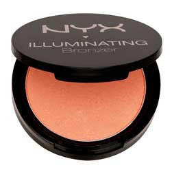 NYX<hr>nyx pb01 mocha powder blush