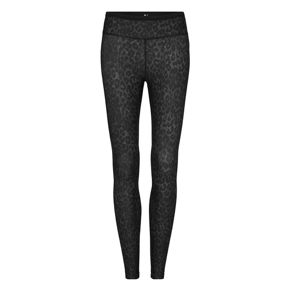 LAUREN 7/8 TIGHTS - BLACK LEOPARD - Nimble Activewear - Sportluxe
