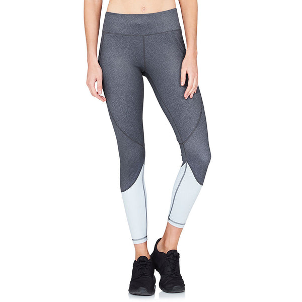 Riley 7/8 Tights Black Herringbone - Vie Active - Sportluxe