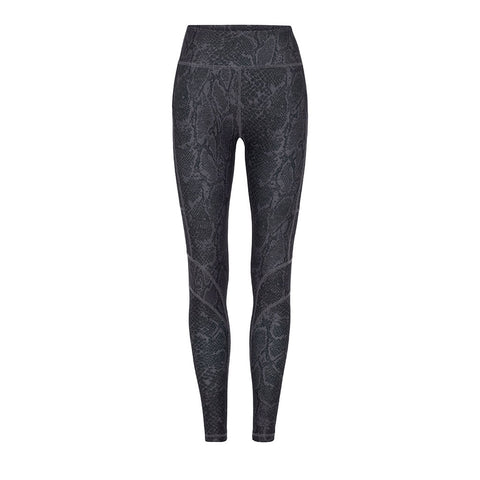 Rockell Full Length Tights Black Python - Vie Active - Sportluxe