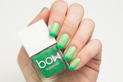 BOW THERMO TOP COAT GREEN - Nailshop.ae