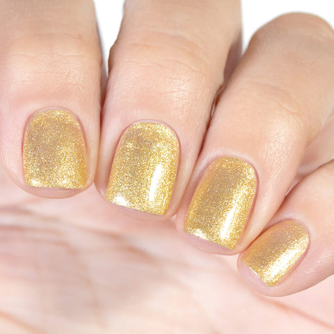 Gel polish BASIC Golden Powder, 11 ml