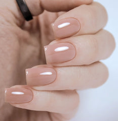 BASIC NUDE RUBBER BASE, 11 ML - Nailshop.ae