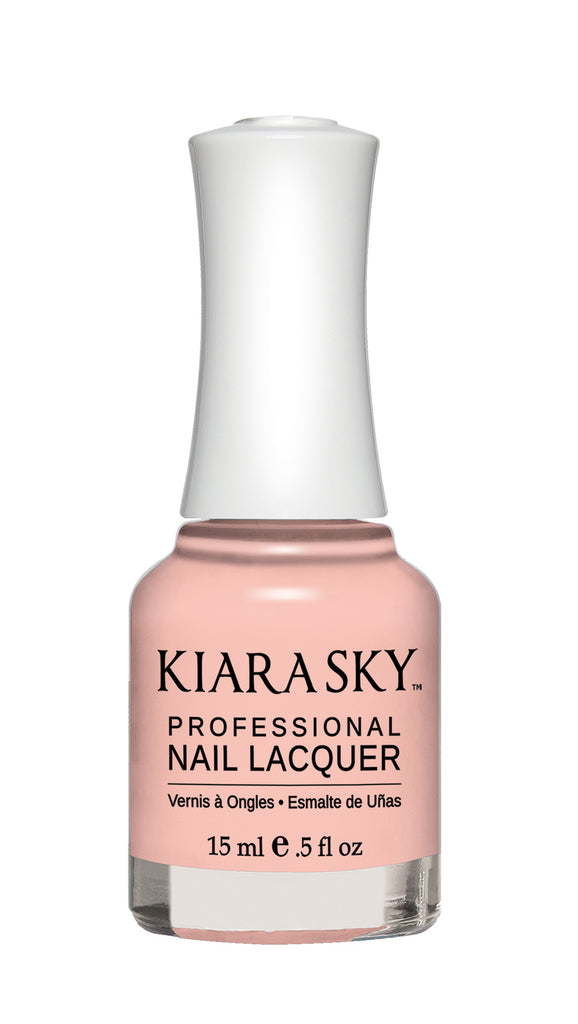 KIARA SKY professional NAIL LACQUER N523 tickled pink - Nailshop.ae