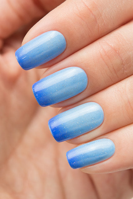 BOW THERMO TOP COAT BLUE - Nailshop.ae