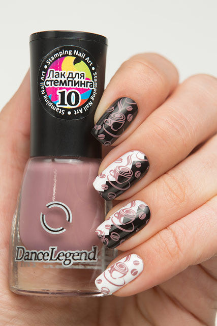 COFFEE Stamping Polish - Nailshop.ae