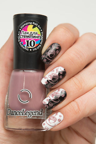 COFFEE Stamping Polish