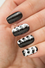 BLACK Stamping Polish - Nailshop.ae