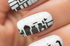 WHITE Stamping Polish - Nailshop.ae