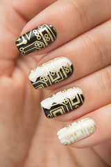 GOLD Stamping Polish - Nailshop.ae